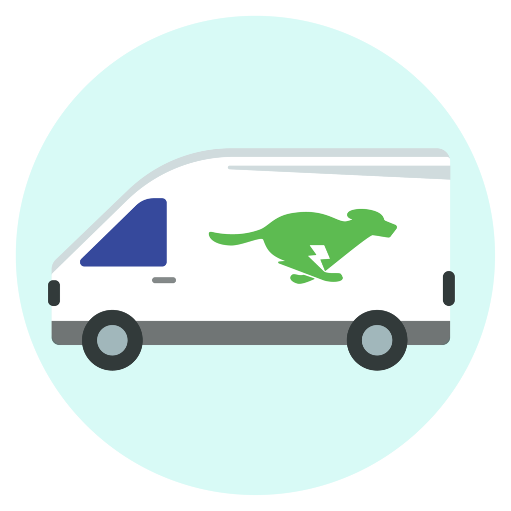 greenspark van icon